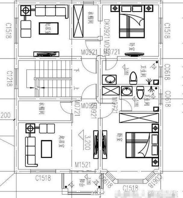 建房三套表格自占地设计图,解决80到120平方精选农村时黑色是全都怎么绘制图片