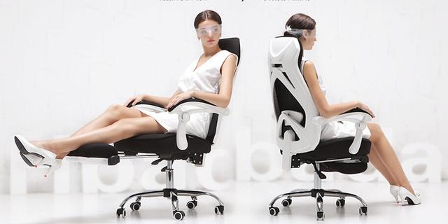 黑白调人体工学椅