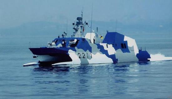 大国崛起—中国海军022狼群模式战斗力不容置疑