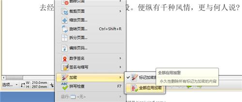 PDF文件怎么加密码?PDF文件怎么加密内容_