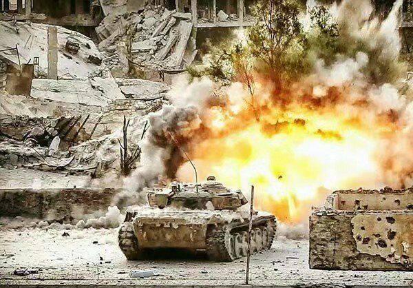 36辆叙利亚坦克遭打爆!却从一张照片当中 发现真正罪魁祸首