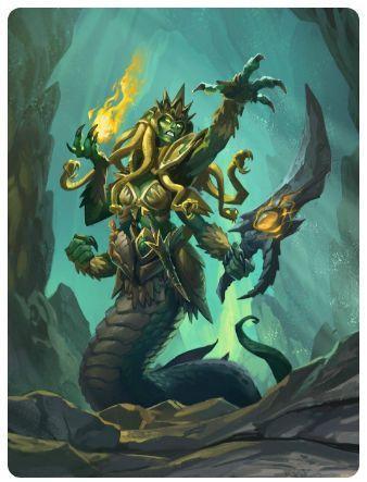 炉石传说战吼萨卡组 女巫森林无限战吼萨卡组推荐