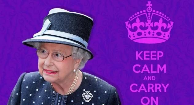 这也演练?英国女王演练英国政府忙着感冒女王什么流行性感冒冬季是图片