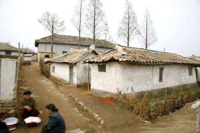 实拍朝鲜农村真实生活,让人看到了中国的八九