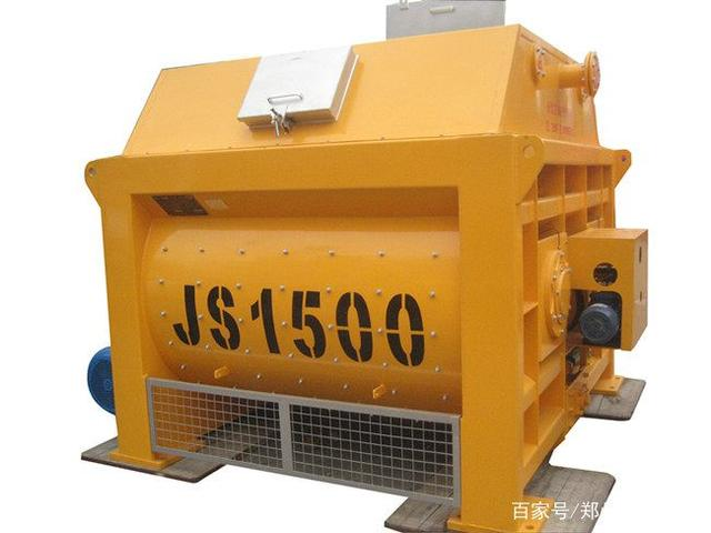 JS1500混凝土搅拌机环保水平应达到的标准
