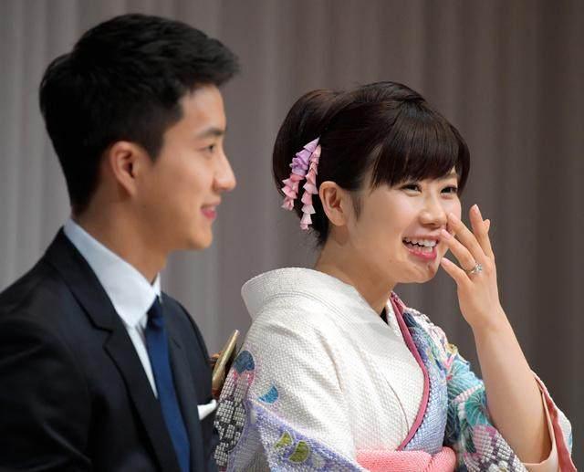 """日本媳妇""""抛弃""""中国丈夫!福原爱回娘家待产 女儿将入日本国籍"""