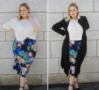 胖女孩穿衣搭配:怎么穿衣服显瘦?