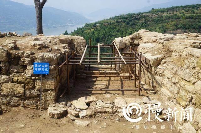 重庆奉节白帝城大遗址新发现 清理南宋至明清时期各类遗迹20处
