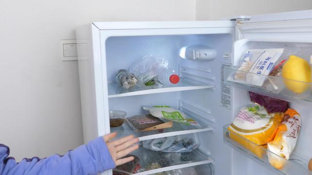 冰箱里有个小开关,动动这个开关省电很多,看看你做对了吗