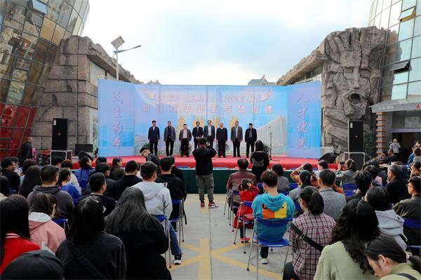 政府搭桥 校企合作|南通理工学院高校毕业生专场招聘会在海安举行