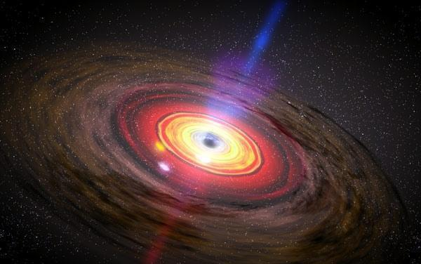 最新消息:科学家最近研究黑洞的吸积盘,他们发现了什么?_hao123上网导航