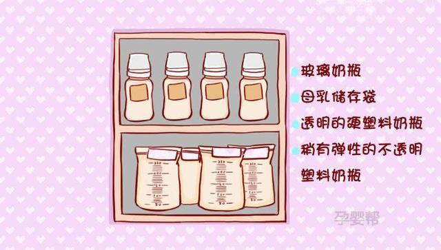 夏季母乳保存要选择适合的母乳储存容器(图1)