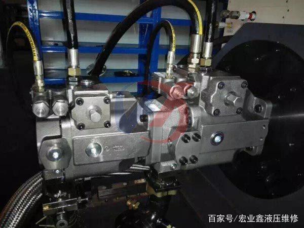 """液压油泵维修只需""""看6听4""""就能诊断液压泵故障"""