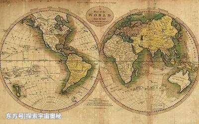 外星人遗留在地球上的古老地图被发现,外星人