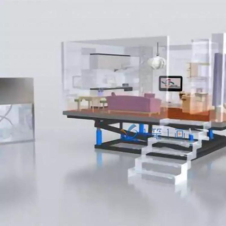 民防民防展厅3D效果图,高科技人防人防国内比较出名的室内设计师图片