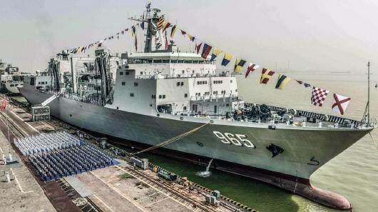 中国航母腰杆硬了 竟是有了特殊伙伴 这是亚洲最大的支援力量