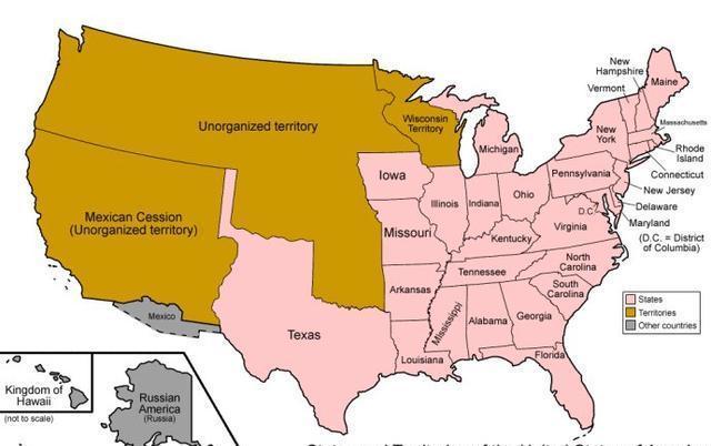 美墨战争中墨西哥几乎亡国,美国为何没有趁机