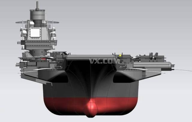 如果中国有了乌里扬诺夫斯克号苏美不心灰料斗图纸图片