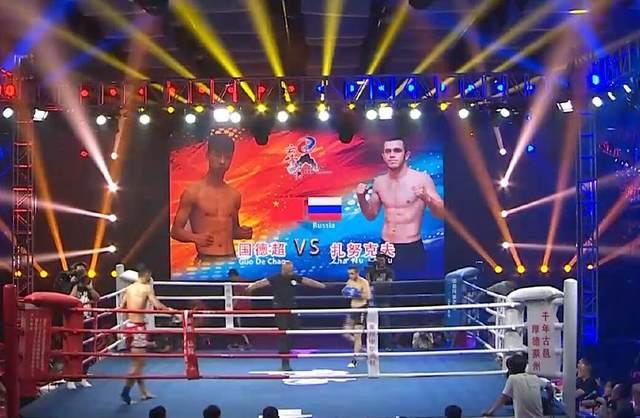 10秒KO泰拳手的中国小将对决俄罗斯硬汉!竟……