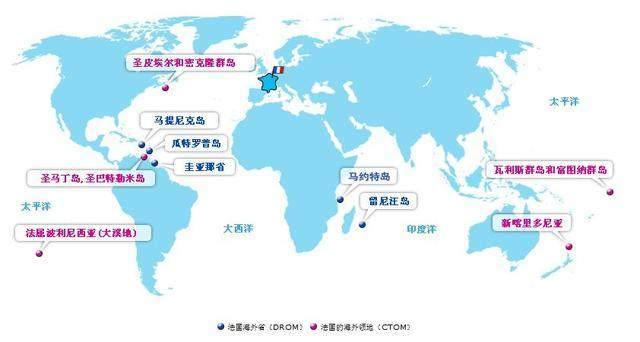 拥有海外领地最多的国家是哪个?是法国还是英
