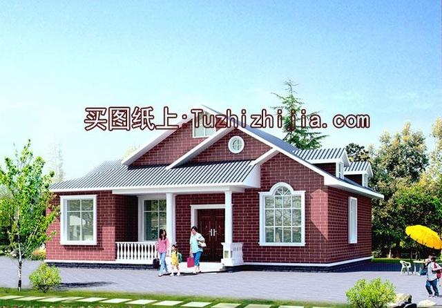 房屋自建一层半乡亲设计图,建好后农村们建筑设计师终身制图片