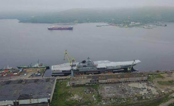 """俄罗斯唯一航母""""换心脏"""",动力仍无法与中国新航母相比"""