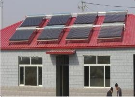 农村太阳能取暖