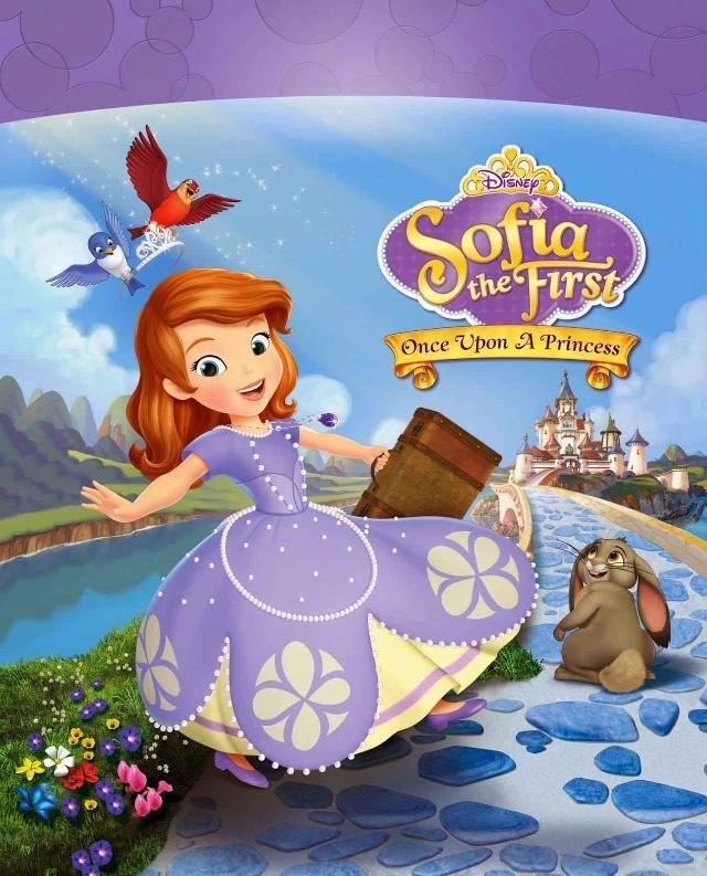 是的→2 不是→3 不一定→4  苏菲亚小公主的动画片有美国迪士尼出版图片