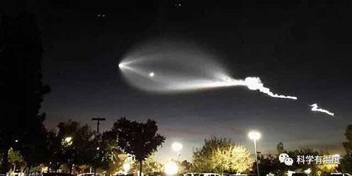 """中科院:华北地区出现的""""UFO""""是航迹夜光云"""
