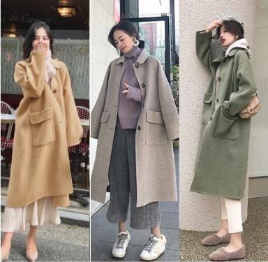 「100%纯羊毛大衣价格」毛呢